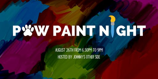 Paw Paint Night!