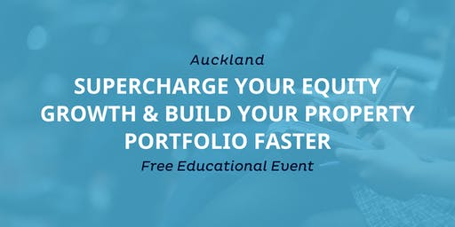 Workshop: Supercharge Your Cash Flow & Build Portfolio Equity Faster