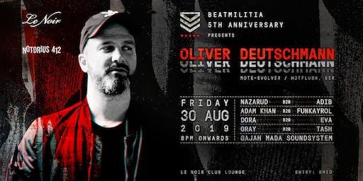 Beatmilitia 5th Anniversary present Oliver Deutschmann
