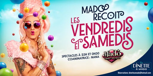 Mado Reçoit samedi le 21 septembres 2019