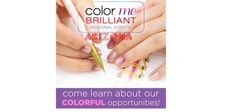August Arizona Color Street Regional Meeting - Color Me Brilliant tickets
