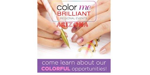 August Arizona Color Street Regional Meeting - Color Me Brilliant