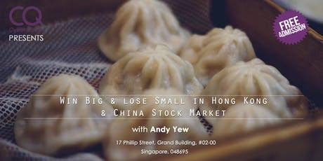 Win Big & Lose Small In Hong Kong & China Stock Market tickets