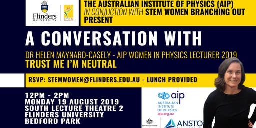 Lunch time conversation with Dr Helen Maynard-Casely - AIP Women in Physics