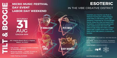 Tilt and Boogie Micro Music Festival – Labor Day Weekend – DAY EVENT