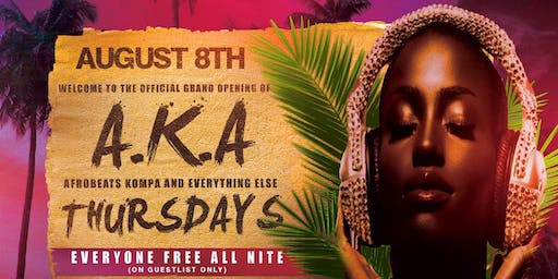 KINGS OF AFRO YORK PRESENTS AKA THURSDAYS INSIDE THE JUICY BOX BAR LOUNGE