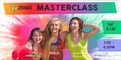 Zumba® Masterclass w/Susan, Natalia, and Daniela!