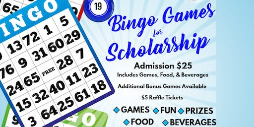 Amicae of East Point Host:  BINGO Games for Scholarship