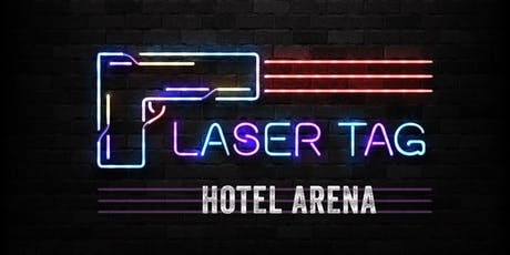 me and all x laser tag hotel arena  entradas