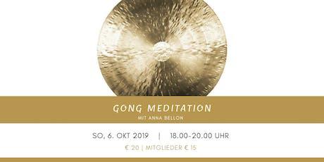 Gong Meditation mit Anna Bellon Tickets