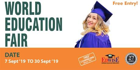 World Education Fair in Trivandrum tickets