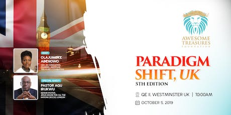 Paradigm Shift, UK 5th Edition. tickets