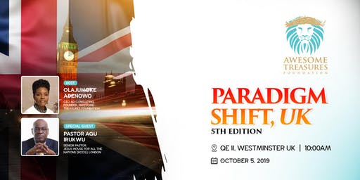 Paradigm Shift, UK 5th Edition.