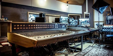 Music Producer School - Open Day + Recording Workshop billets