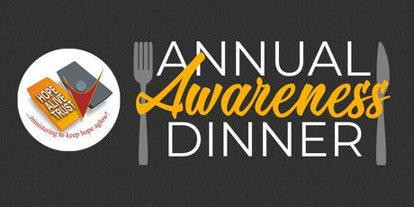 HOPE ALIVE TRUST CHARITY AWARENESS DINNER tickets