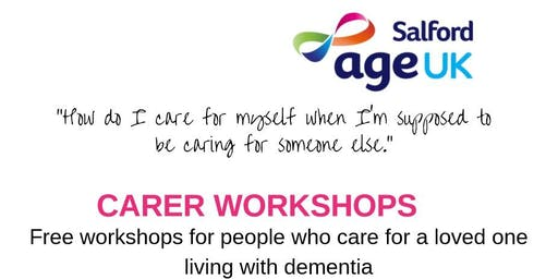 Dementia Carer Workshop - Coping for Carers