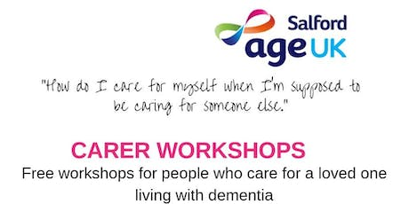 Dementia Carer Workshop - Carers Rights tickets