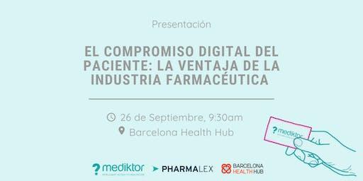 El compromiso digital del paciente: La ventaja de la industria farmacéutica