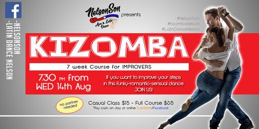 Nelson Kizomba Improvers - 7 Week Course [Term 3]