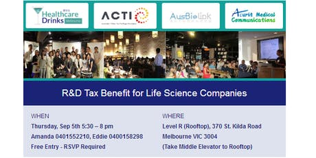 R&D Tax Benefit for Life Science Companies tickets