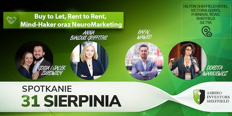 Buy to Let, Rent to Rent, Mind-Haker oraz NeuroMarketing tickets