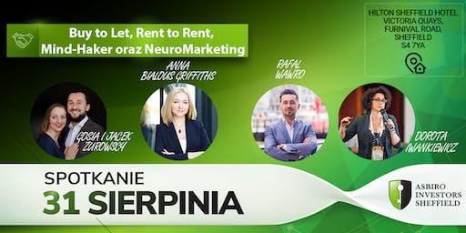 Buy to Let, Rent to Rent, Mind-Haker oraz NeuroMarketing