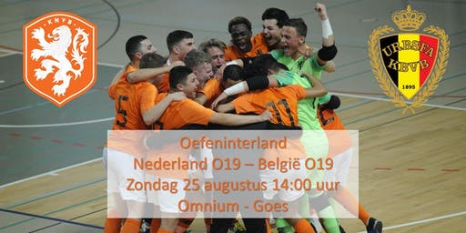 Oefeninterland Nederland O19 - België O19