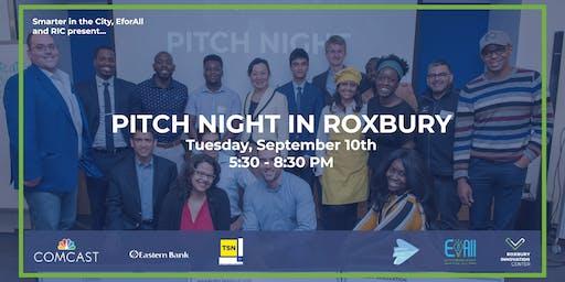 Pitch Night in Roxbury