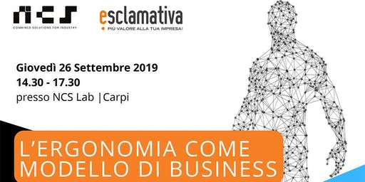 L'ergonomia come modello di Business