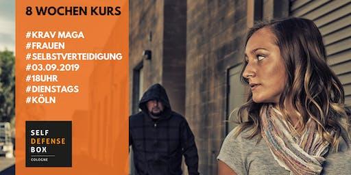 8 Wochen Krav Maga Selbstverteidigungskurs für Frauen ab 14 Jahre Dienstags