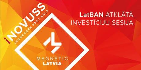 LatBAN atvērtā Investīciju sesija iNOVUSS festivāla ietvaros tickets