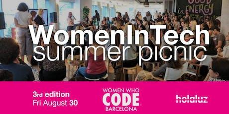 WomenInTech Summer Picnic (III Edición) tickets