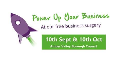 Amber Valley Business Surgeries - 10 Sept & 10 Oct tickets