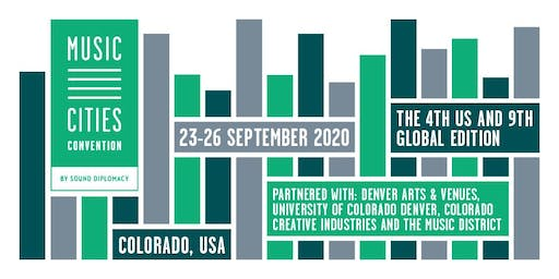 Music Cities Convention - Colorado 2020