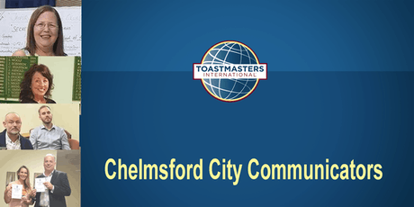 Chelmsford City Communicators open meeting tickets