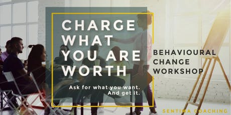 Charge What You Are Worth. And Get It. | SENTIMA C tickets