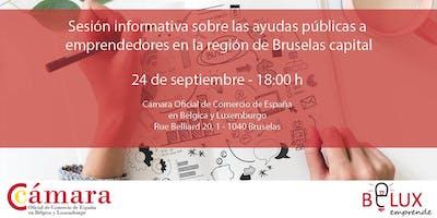 Sesión informativa sobre las ayudas públicas a emprendedores en Bruselas