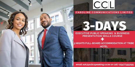 3-Day Executive Public Speaking & Business Presentation Skills Course tickets