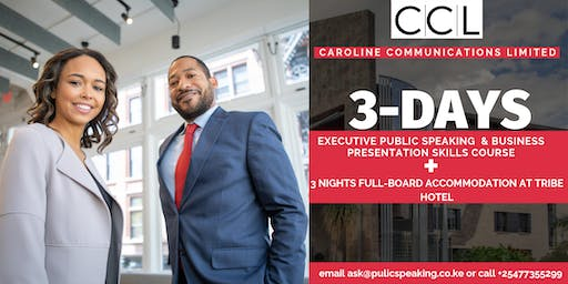 3-Day Executive Public Speaking & Business Presentation Skills Course