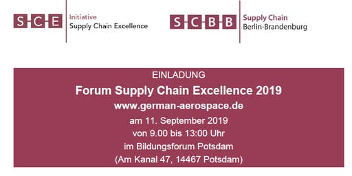 Forum Supply Chain Excellence 2019