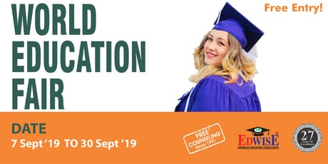 World Education Fair in Hyderabad tickets