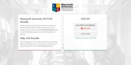 11/9/19: Using Moodle for communication and collaboration tickets