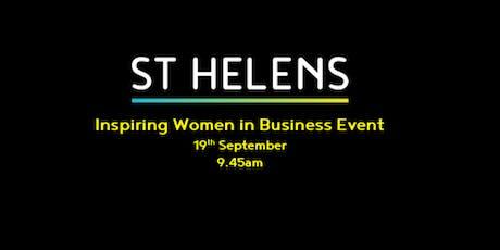 Inspiring Women in Business Event tickets