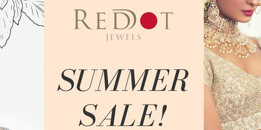 Red Dot Jewels Summer Sale