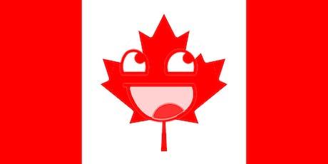 Canadian Comedy Night at Lambicus Bar tickets