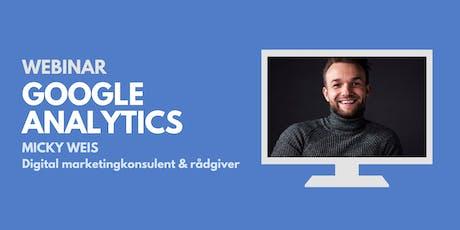 Webinar: Google Analytics tickets
