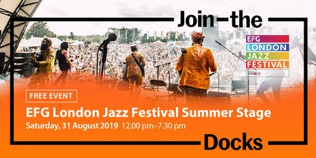EFG London Jazz Festival Summer Stage tickets