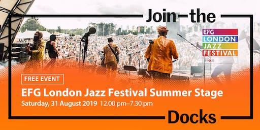 EFG London Jazz Festival Summer Stage