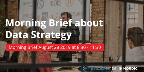 Executive Morning Briefing on Data Strategy Tickets