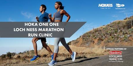 HOKA Loch Ness Marathon Run Clinic tickets